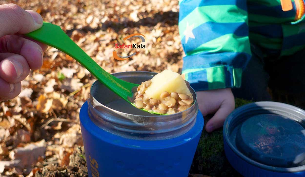 ظرف غذا گرم نگهدارنده برای مدرسه
