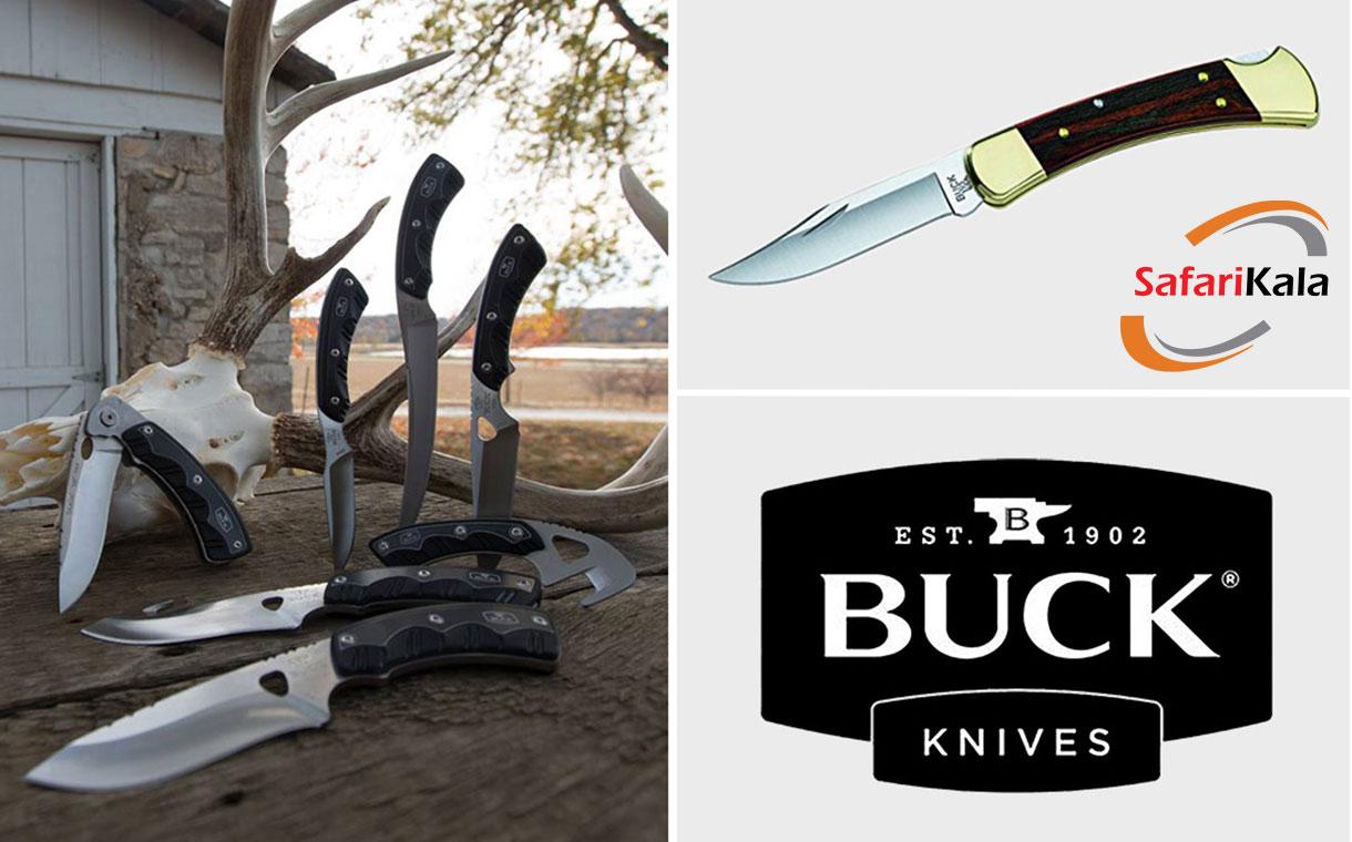 انواع چاقوی باک اصل در فروشگاه سفری کالا - به زودی Original Buck Knife